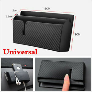 1X Car Accessories Air Outlet Storage Box Organizer For Phone Cigarette Tickets