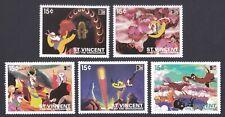 St. Vincent 1996 Asian Stamp Exhibition Monkey King stamp 5v MNH