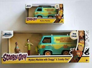 NEW JADA Scooby Doo Hollywood Rides MYSTERY MACHINE w Scooby & Shaggy 1:24 1:32