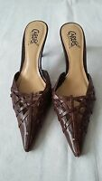 WOMENS LEATHER SHOES SIZE UK 4.5  CARLOS SANTANA   #18
