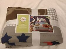 Circo Game On Collection Sports Twin Quilt Comforter Patch Star Football