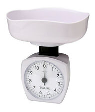 Taylor White Analog Kitchen Scale 11 Lb. Weight Capacity