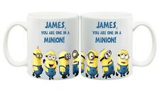 One In A Minion Funny Personalised Minion Mug Coffee Cup Custom Birthday Gift