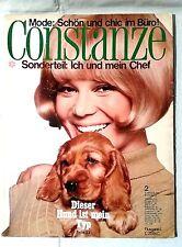 CONSTANZE Heft 2 Januar 1966 Mode Wohnen Fernsehprogramm