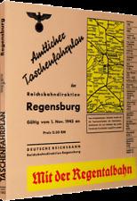 Amtlicher Taschenfahrplan der Reichsbahndirektion-Regensburg 1943 (Reprint)