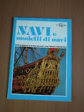 "REVUE  DE MODELISME  NAVAL  ITALIENNE ""NAVI e modelli di navi"" N°1 de 1977"