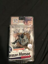Thurman Munson McFarlane Collector Level Silver