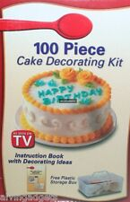 100 Piece Cake Decorating Cakes And Cookies Kit