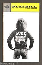 "Tom O'Horgan (Signed) ""DUDE"" Gerome Ragni / Galt MacDermot 1972 FLOP Playbill"