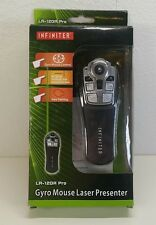 Computers Accessories INFINITER Gyro Mouse Green Laser Presenter, Powered by 2 -