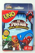Marvel Spiderman UNO Card Game Brand new sealed package Mattel Games