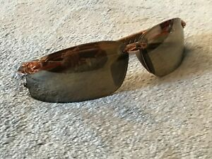 Crossfire Men Sunglasses Wrap Sport Eye Wear C Z87+ Brown Lenses Shades