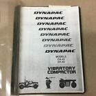 Dynapac CH/CF-43 PULL TOW ROLLER SERVICE MANUAL OPERATION MAINTENANCE PARTS BOOK