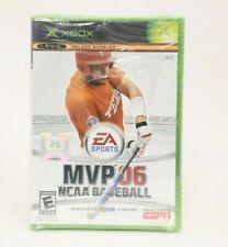 MVP 06 NCAA Baseball (Microsoft Xbox, 2006) NEW Not Mint Seal
