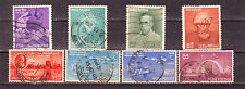 Indian-8 Diff. Used Good Condition Stamps Complete Year Pack of 1958 #IU58
