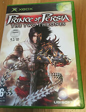 XBOX Prince of Persia The Two Thrones Game with box and instructions Xbox