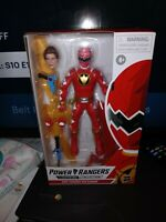 Power Rangers Lightning Collection Wave 7 Dino Thunder Red Ranger In Stock