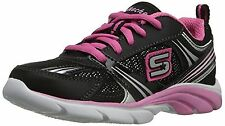 a5ed70fc7dc4 SKECHERS Star Sprintz Black Hot Pink Athletic Shoes Girls Youth Various  Sizes 13