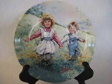 1982 Wedgwood Playtime By Mary Vickers Limited Edition Plate