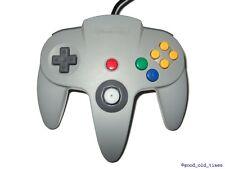 ## original NINTENDO 64 / N64 Controller in grau - TOP ZUSTAND ##
