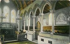 s08613 Church Royal Pew, Whippingham, Isle of Wight, England postcard unposted