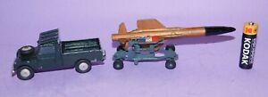 * BARN FIND * 1959-1963 * CORGI GS3 * RAF LAND ROVER / THUNDERBIRD MISSILE *