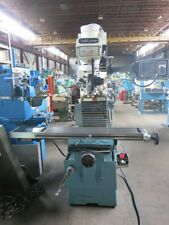 Proto Trak Trm Cnc Bed Mill With Mx2 Control 40 Taper With Toolholders
