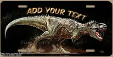 T-REX Tyrannosaurs painting LICENSE PLATE, personalized, made in USA