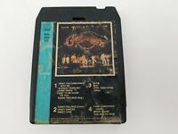 Commodores 8 Track Tape Live Easy Brick House Too Hot Ta Trot Just To Be Close