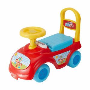 4 Wheel Foot to Floor Ride On Toddler Kids Foot To Floor First Car GiftSteeringU