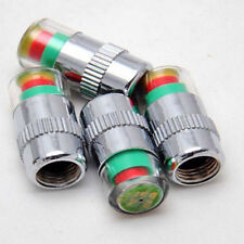 4 X Car Auto Tire Monitor Valve Dust Cap Pressure Indicator Sensor Eye Alert