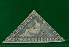 South Africa Cogh Triangular 1862 6d slate-lilac mint Lmm Sg.7c cat £4,500 Gold4