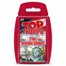 Top Trumps Card Game United States
