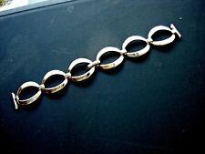 Bracelet gourmette métal 18 mm montre strap watch 70s vintage band racing f