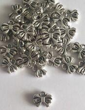 500 x Noeud charme mignon Argent Tibétain Bracelet Pendentif