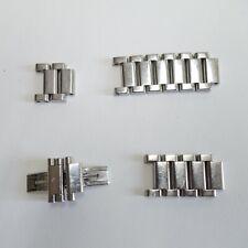 Girard Perregaux Stahlband Fragmente, GP 7000;7100;7200;7300, used, an Bastler