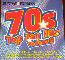 Top Ten Hits Of The 1970s Volume 2 (CD), 7 tracks + 6 bonus tracks.Sun Express