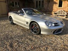 Unique Mercedes sl500 with SLR bodykit