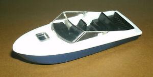 1/87 HO Scale Speed Boat Minature Plastic Water Toy Model Watercraft - Siku