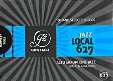 Gonzalez #3.25 Alto Saxophone Jazz Local 627 Reeds (Box of 10 Reeds) BRAND NEW