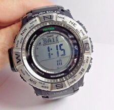 Casio Men's PRW-3500-1WC Atomic Resin Digital Watch