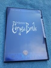 Tim Burton's The Corpse Bride Dvd Fyc For Your Consideration Dvd 2005 Rare New