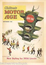 Postcard: Vintage Advertising Posters - Chilton's Motor Age Magazine (2014)