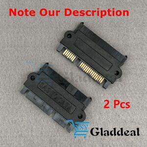 2pcs New SFF 8482 SAS to SATA 180 Degrees Straight Head Adapter Converter 22 Pin