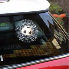 1x Classic 3D Car Windshiled Sticker Auto Ball Hit Glass Crack Adhisive Decals