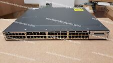 Cisco WS-C3750X-48P-E PoE+ IP SERVICES LICENSE Ten Gigabit 3750X-48P-E switch