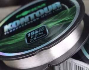Korda Kontour Fluorocarbon Mainline - 12lb, 15lb & 18lb NEW 200m spool