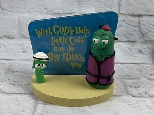 Veggie Tales Big Idea Hallmark Figurine Vintage 1999 Junior Asparagus