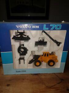 Joal Volvo BM L70 model with attachments 1:50 scale - rare