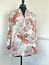 Dorothy Perkins Blouse Size 16 Semi Sheer Blouse Long Sleeve Holiday Cover Up